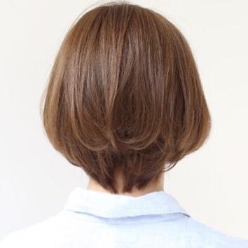 カラーリングでツヤ髪に。